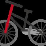 自転車に毎日乗っています