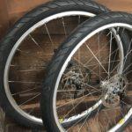 e-Bike のタイヤ交換 ブロックタイヤから街乗り用にした件 自転車タイヤ交換