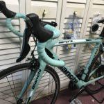 ロードバイクの夢 Bianchi ビアンキ チェレステカラーが好き  SEMPRE pro 105