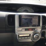 タント 社外ナビ バックカメラ 車速信号 L375S 純正オーディオ オーディオパネル 交換