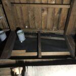 屋根裏の換気 中間ダクト扇 設置